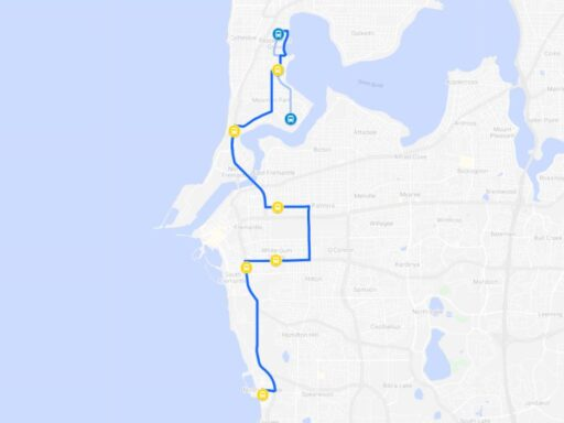 North Coogee Route